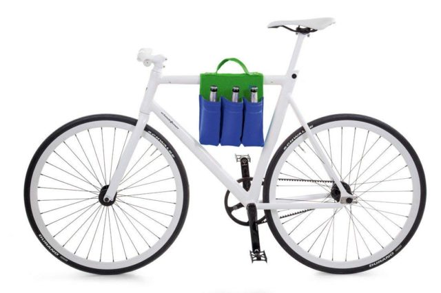 Donkey bike bags bottle carrier