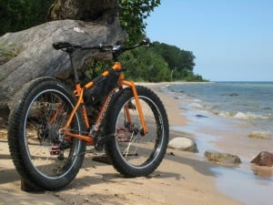 Fat Bike on Beach