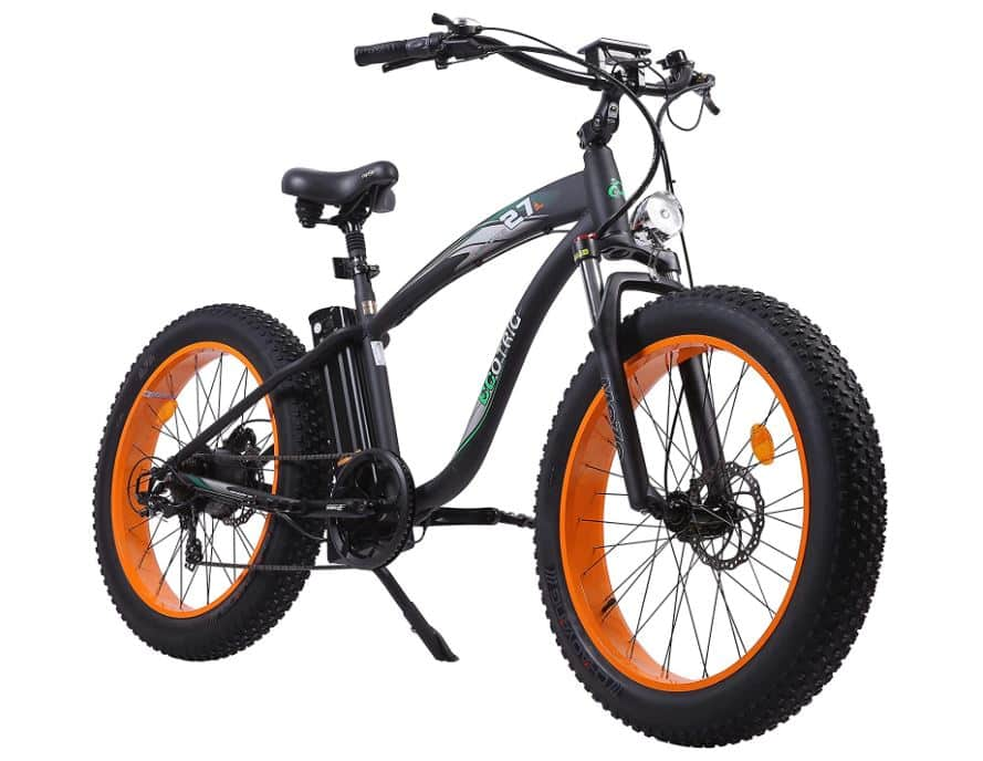 ECOTRIC UL Certified Powerful Fat Tire Electric Bicycle