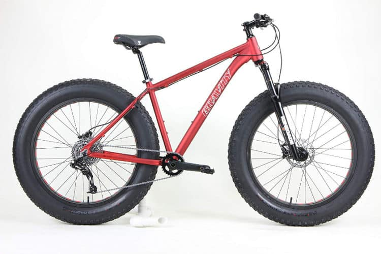 Gravity Bullseye Monster Five X FS Aluminum Fat Bike