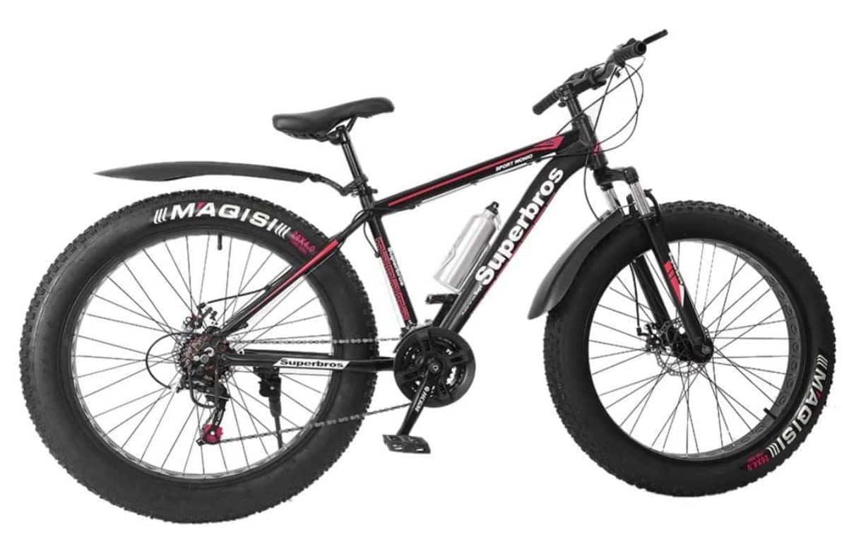 HADST Adult Fat Tire Mountain Bike