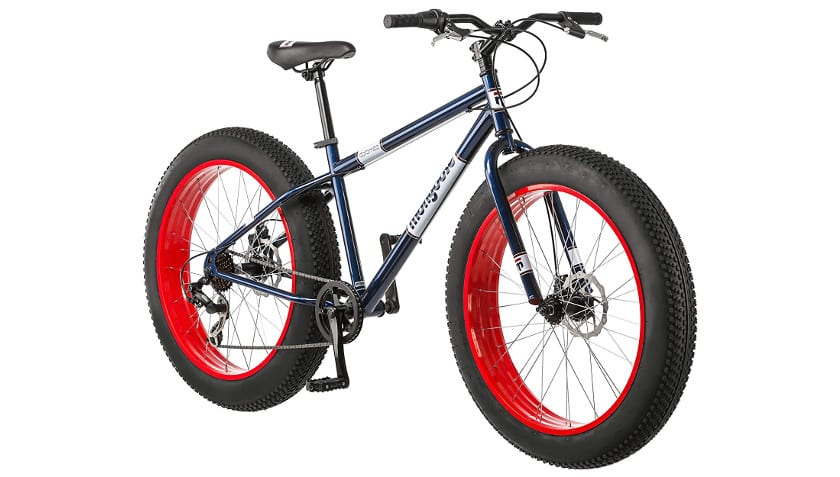 Mongoose Dolomite Fat Tire Bicycle 17-Inch