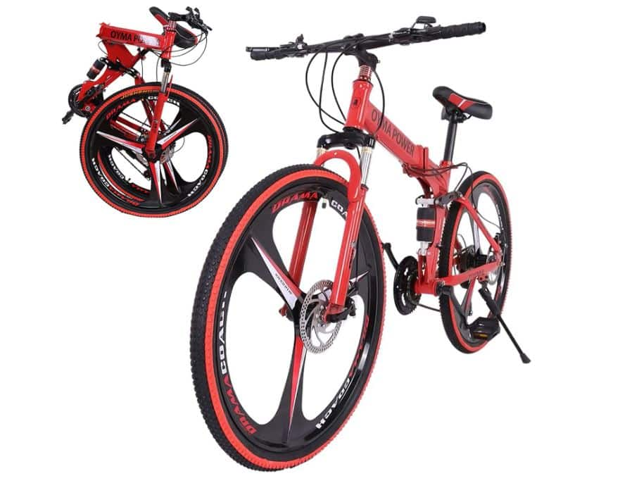 SMIDOW 26in Folding Mountain Bike