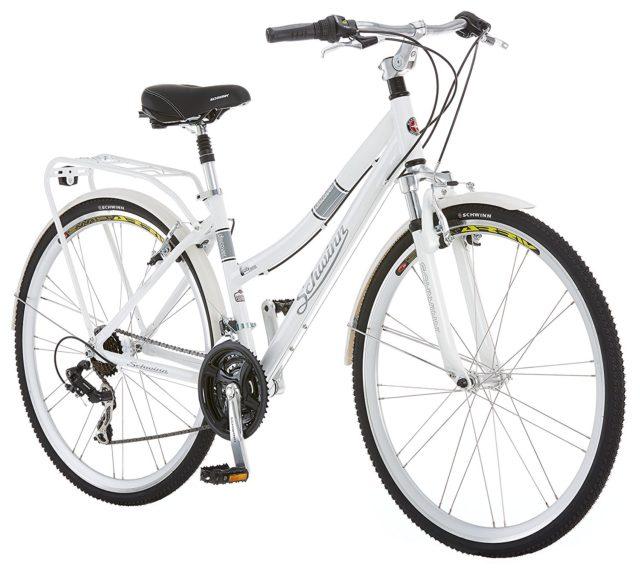 Schwinn Discover comfortable hybrid bike