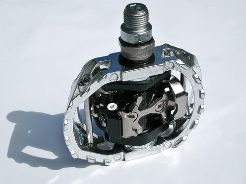 Shimano SPD pedal. Photo Credit: Fred