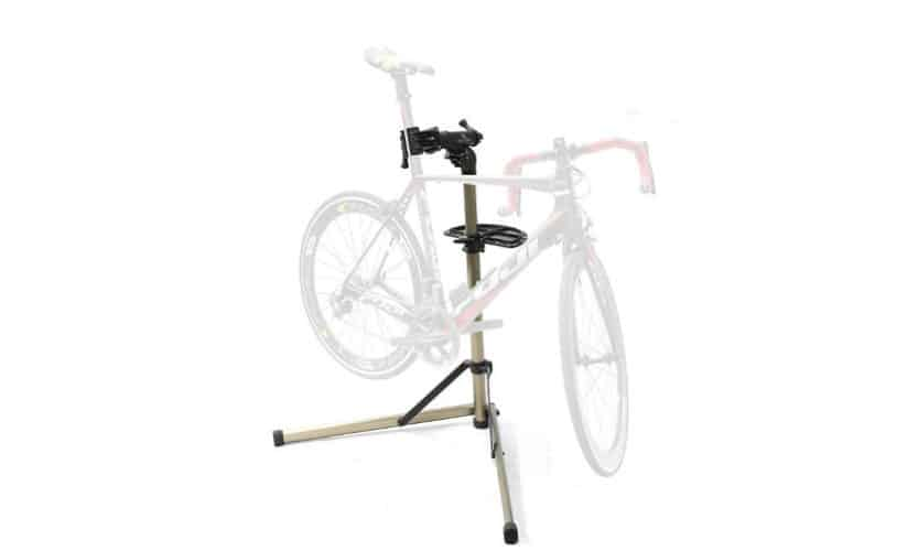 Home Portable Bicycle Mechanics Workstand for Mountain Bikes and Road Bikes