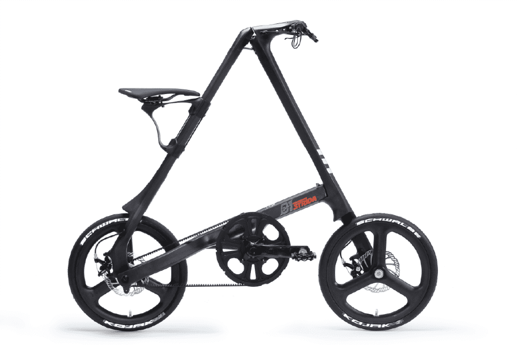 Strida C1 folding bike.