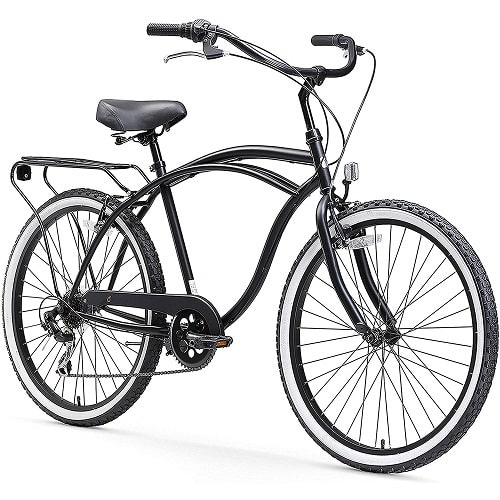 Sixthreezero Around The Block Men's Beach Cruiser Bicycle