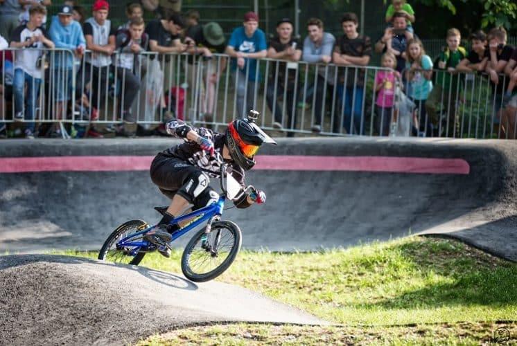Riding BMX Fast