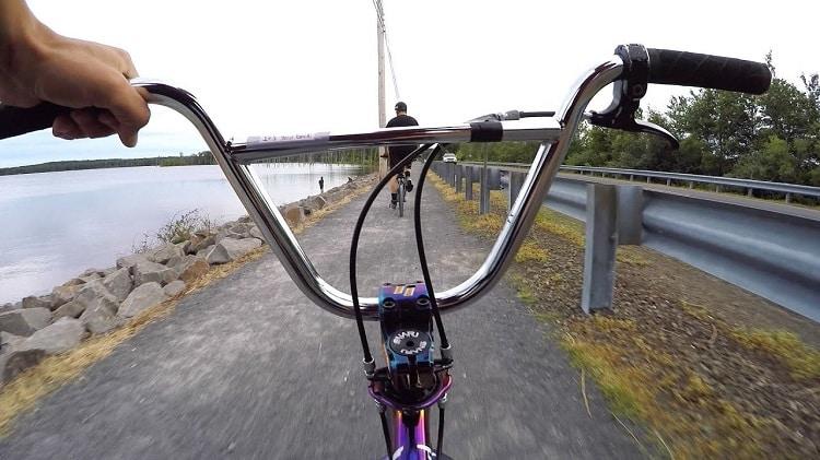 BMX Wheel POV