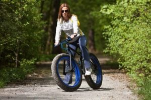 Riding a Fat Bike on the Road