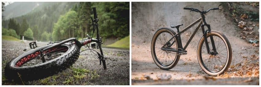 Dirt Bike vs Fat Bike