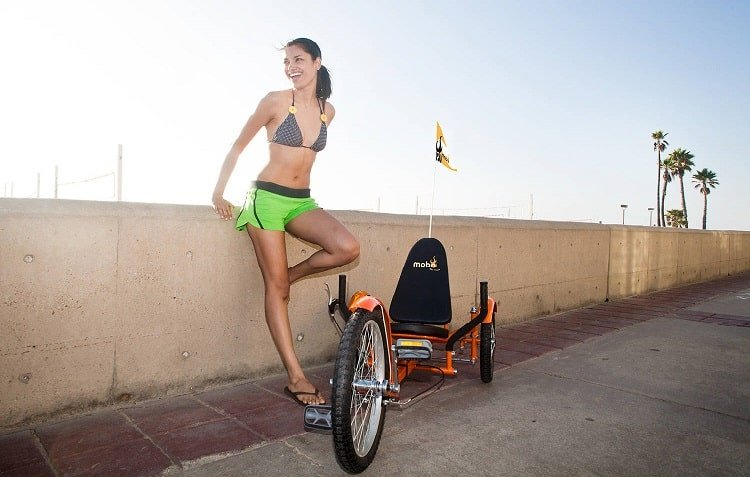 Mobo Triton Pro: A recumbent trike for a different riding position