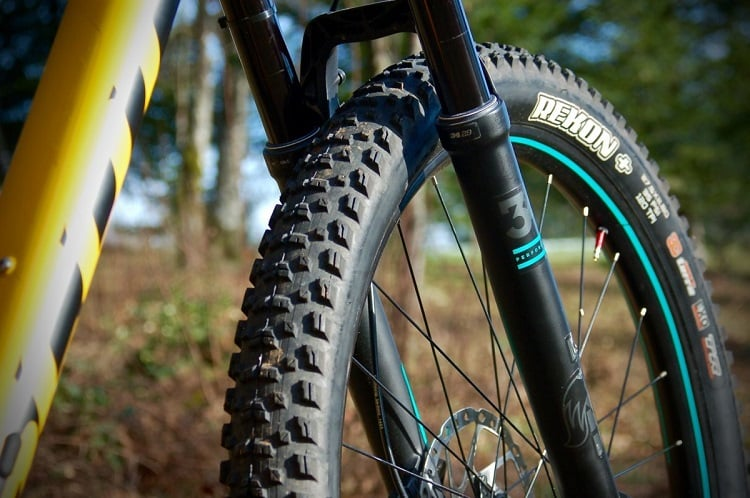 lightweight tire on flat bike