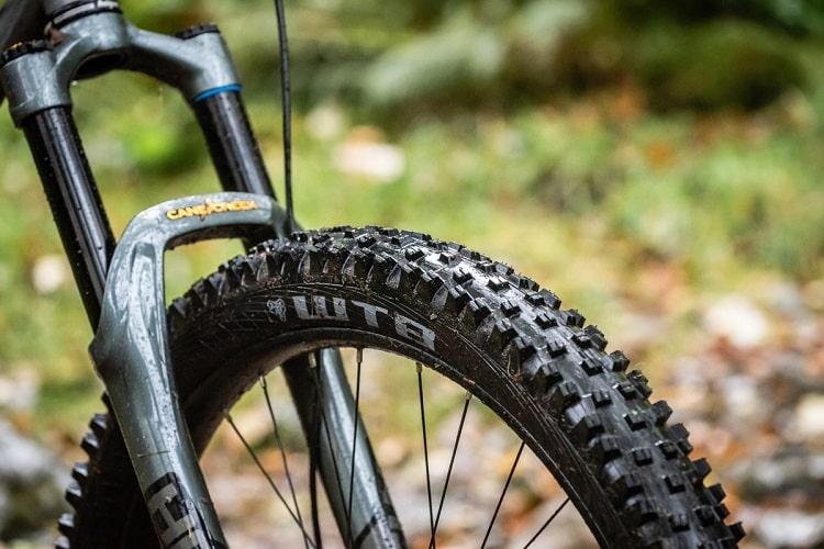 new tire on bike