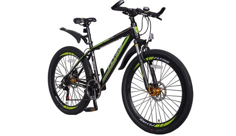 Flying Mountain Bikes