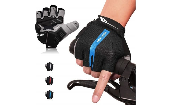 NICEWIN Padded Motorcycle Mountain Biking Gloves