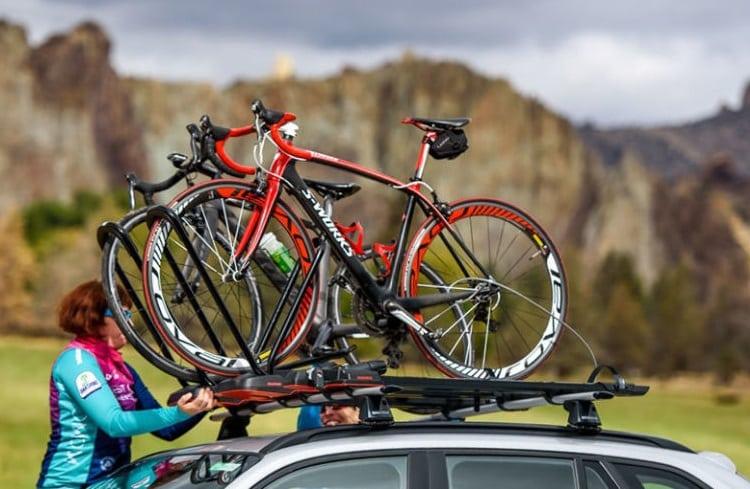 Mounting Bikes On Rack