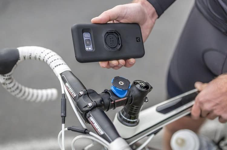 Mounting Smartphone On Bike Mount