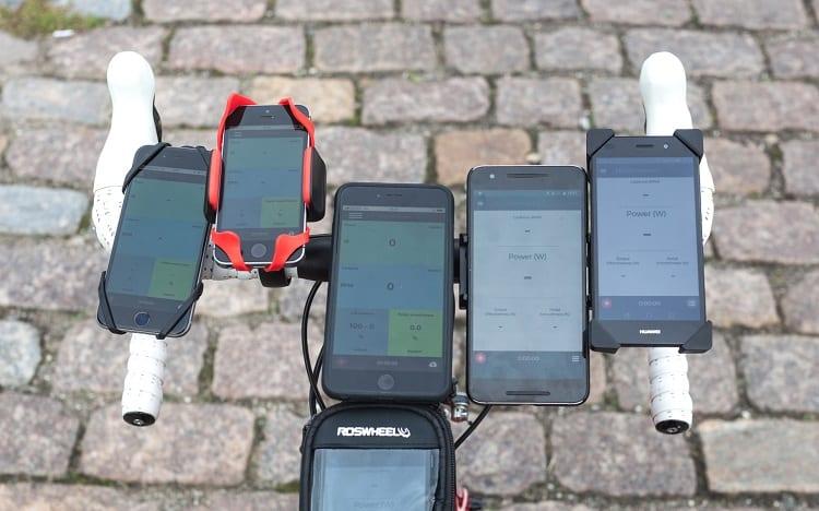 Different Bike Phone Mounts