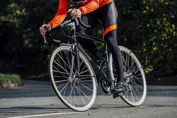 Riding Gravel Bike On The Road