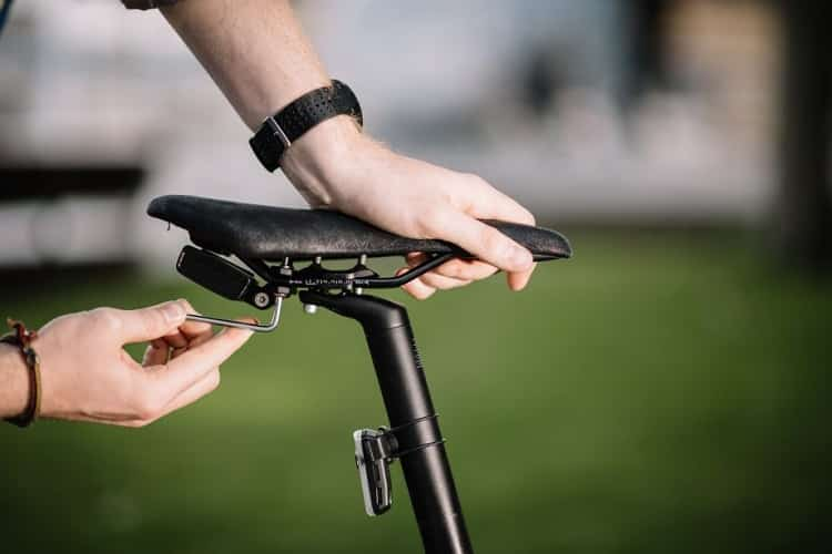 Installing GPS Tracker On Bike