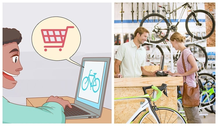 Buying Bicycle Online Vs Physical Store