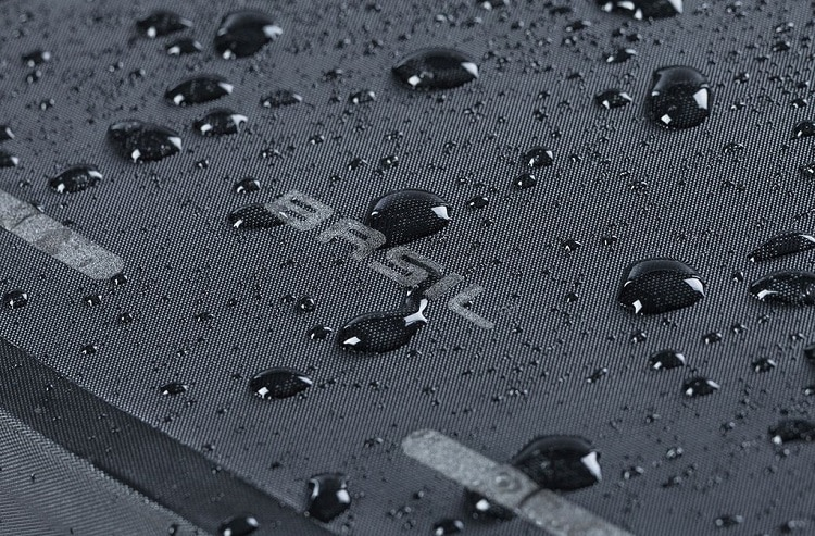 Water Drops On Backpack