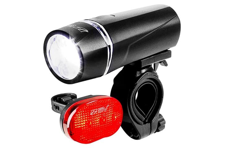BV Bicycle 5 LED Headlight, 3 LED Taillight Review