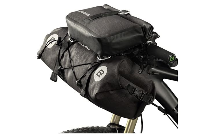 ROCKBROS Waterproof Handlebar Bags Review