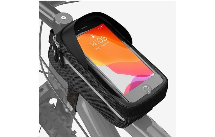 Velmia Bike Phone Mount Bag review