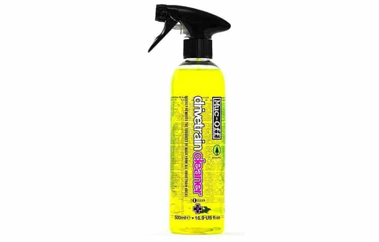 Muc Off Bio Drivetrain Cleaner Bicycle Chain Cleaner and Degreaser Review