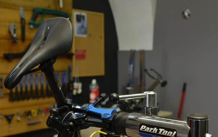 change leather on bike seat