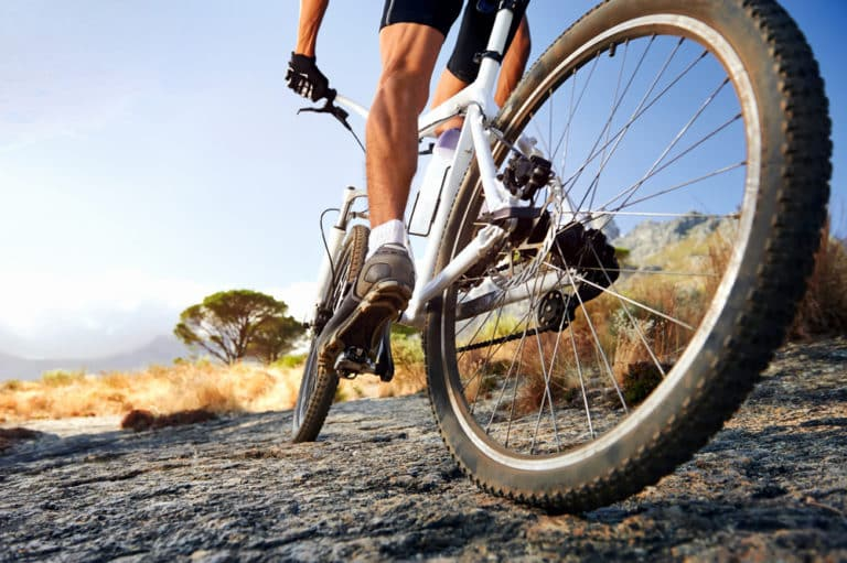 Should Your Feet Touch the Ground on a Bike?